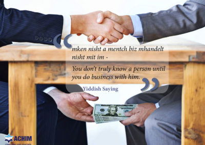 mitzva meme business honesty